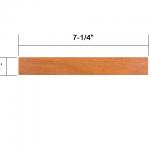 Ipe 5/4×8 dimensional lumber
