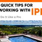 working with ipe