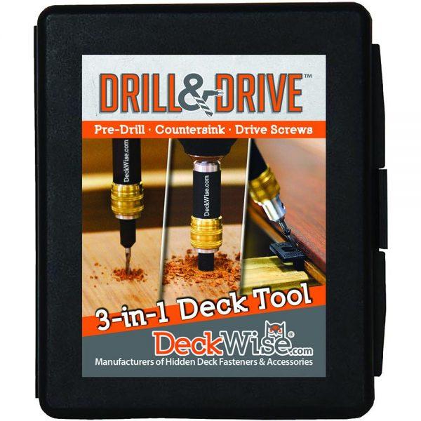 DECKWISE® DRILL&DRIVETM 3-IN-1 DRILL BIT SET