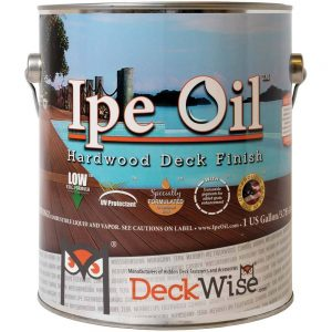 Ipe Oil Hardwood Deck Finish