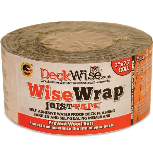 "WiseWrap Deck Joist Flashing Tape - 3"" x 75'"